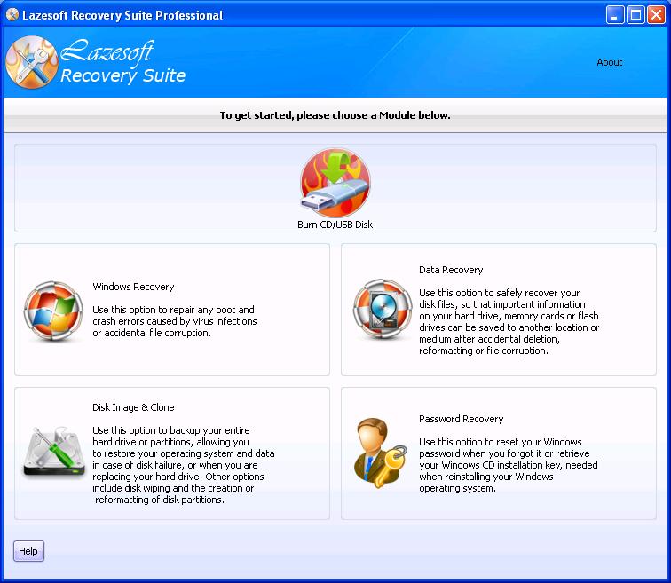 Lazesoft Recovery Suite Professional – 系统数据恢复软件丨反斗限免