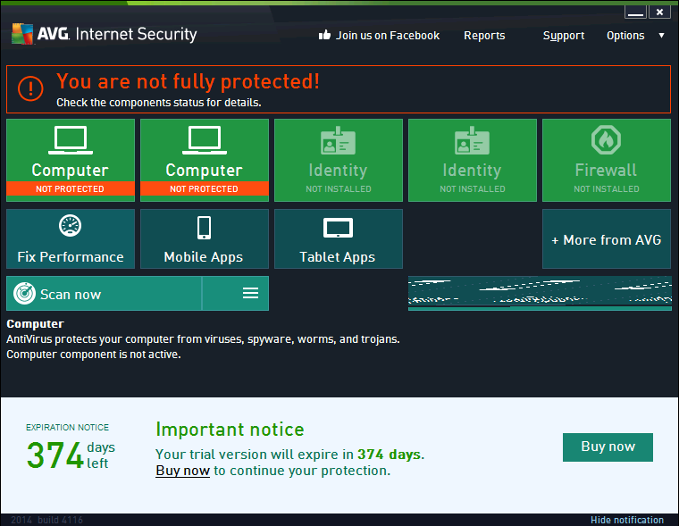 free internet security antivirus for one year