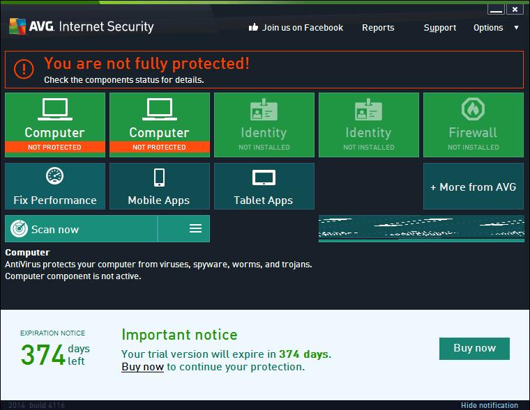 [Windows] Free AVG Internet Security 2014
