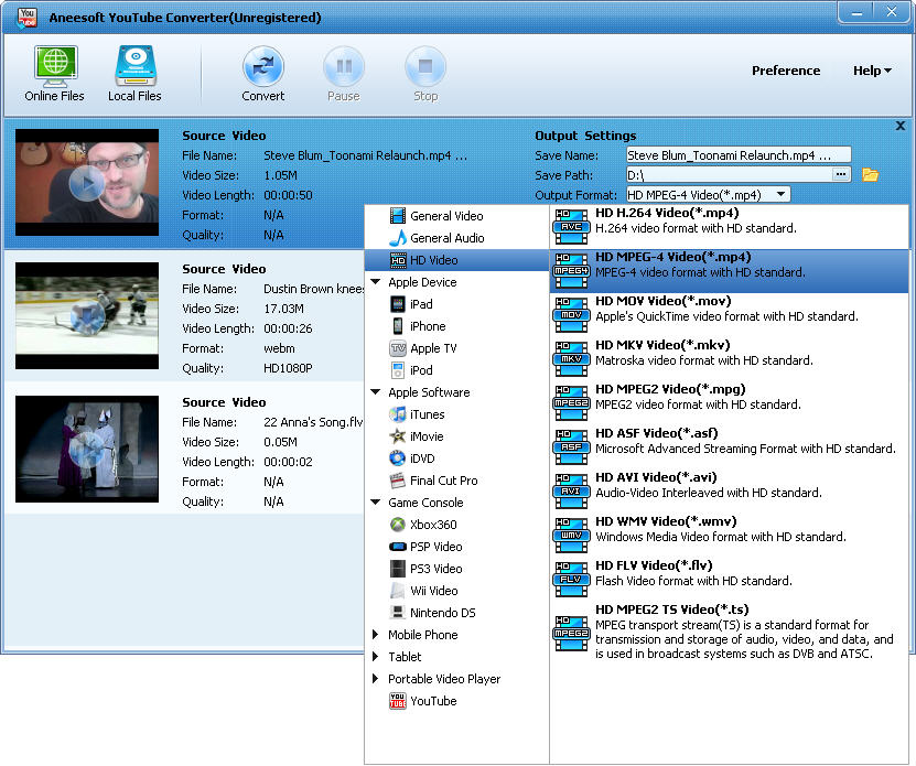 aneesoft_youtube_converter