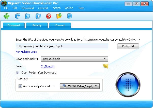 bigasoft_video_downloader_pro_screenshot