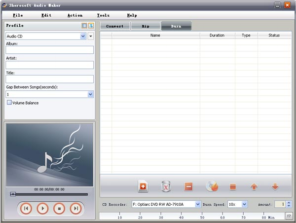 3herosoft_audio_maker_screenshot