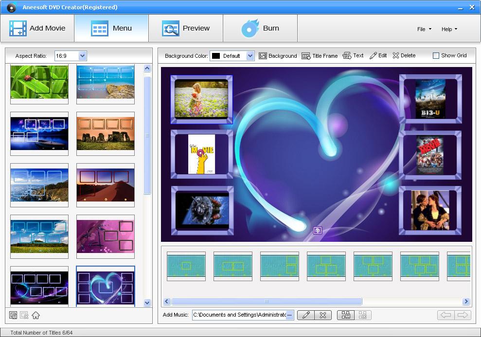 aneesoft_dvd_show_win_dvdshow_menu