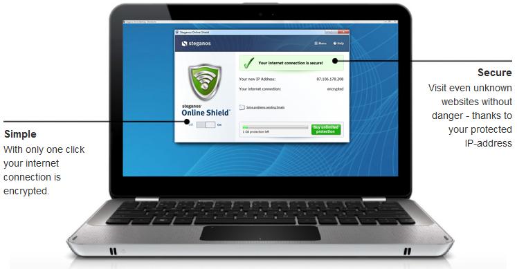 2014 03 08 010131 - Steganos Online Shield 365 - 5GB (24 Saat Kampanya)
