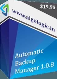 automatic backup manager box - Automatic Backup Manager ( 2 Gün Kampanya )