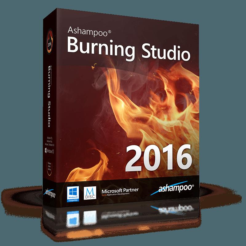 Ashampoo - Burning Studio 2016