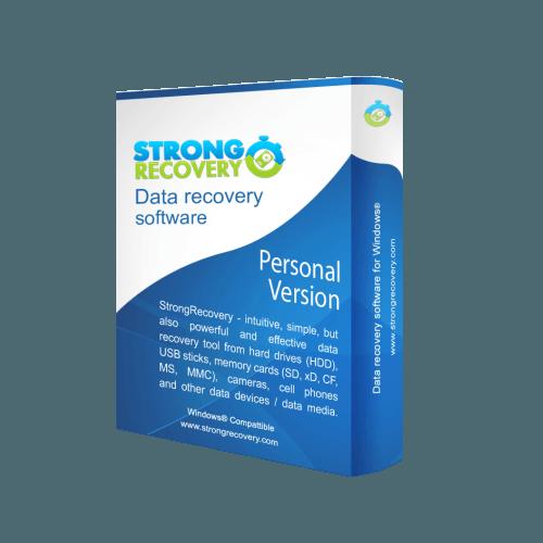 برنامج استعادة الملفات المحذوفة من الكمبيوتر StrongRecovery 3.9.2.9 Box1-order