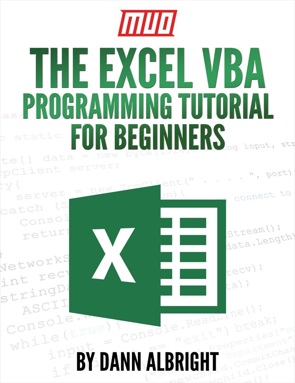 Free The Excel VBA Programming Tutorial for Beginners (100
