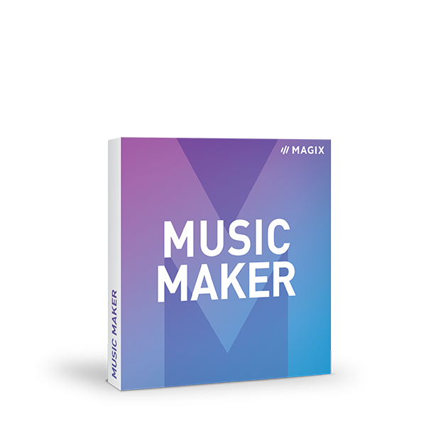 Free MAGIX Music Maker with $25 in-app credit (100