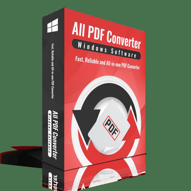 Free All PDF Converter Pro (100% discount)   SharewareOnSale
