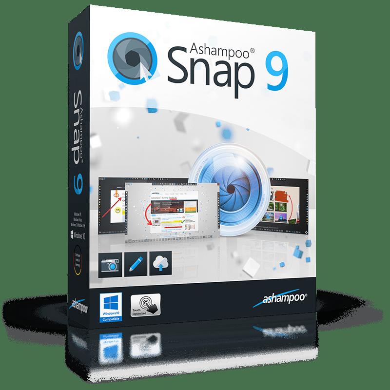 Free Ashampoo Snap 9 (100% discount) | SharewareOnSale