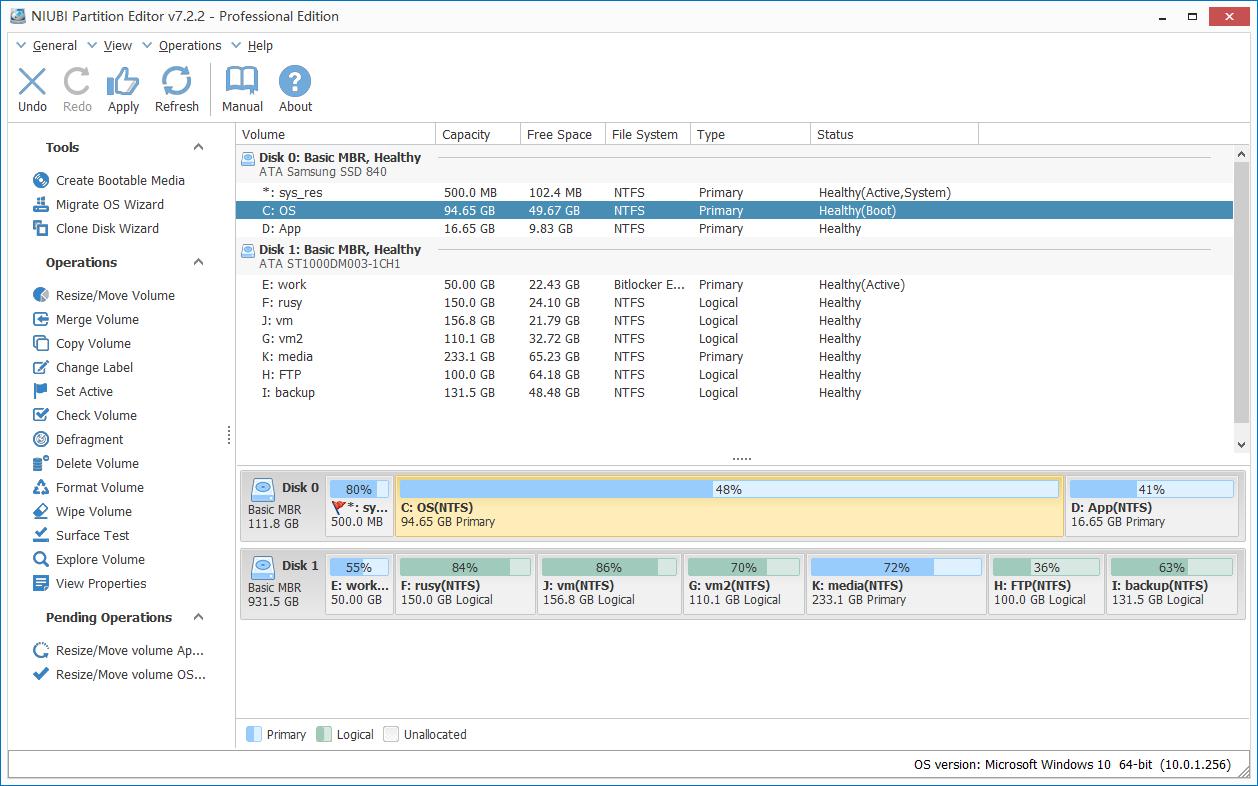 niubi partition editor 7.2.6 key